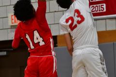 Gallery CIAC Boys Basketball; Wolcott vs. Derby - Photo # 466