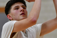 Gallery CIAC Boys Basketball; Wolcott vs. Derby - Photo # 677