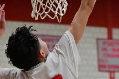 Gallery CIAC Boys Basketball; Wolcott vs. Derby - Photo # 762