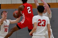 Gallery CIAC Boys Basketball; Wolcott vs. Derby - Photo # 872