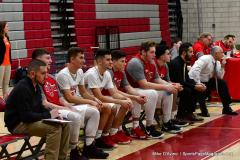 CIAC Boys Basketball; Wolcott 81 vs. Oxford 74 - Photo # 684