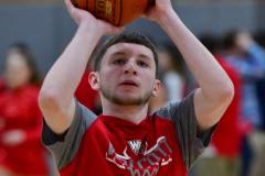 CIAC Boys Basketball; Wolcott vs. Ansonia, Pregame - Photo # (29)