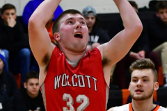 CIAC Boys Basketball; Watertown 63 vs. Wolcott 73 - Photo # 275