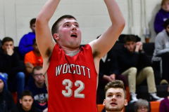 CIAC Boys Basketball; Watertown 63 vs. Wolcott 73 - Photo # 276