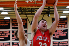 CIAC Boys Basketball; Watertown 63 vs. Wolcott 73 - Photo # 297