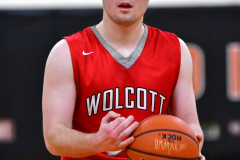 CIAC Boys Basketball; Watertown 63 vs. Wolcott 73 - Photo # 339