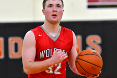 CIAC Boys Basketball; Watertown 63 vs. Wolcott 73 - Photo # 410