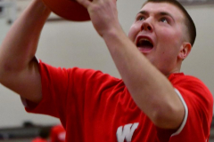 CIAC Boys Basketball; Wolcott 47 vs. Greenwich 76 - Photo # 051