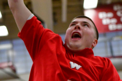 CIAC Boys Basketball; Wolcott 47 vs. Greenwich 76 - Photo # 053