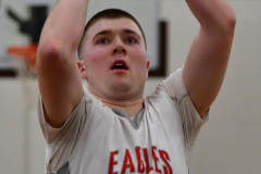 CIAC Boys Basketball; Wolcott 47 vs. Greenwich 76 - Photo # 392