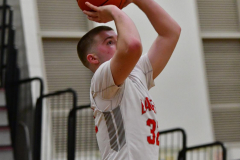 CIAC Boys Basketball; Wolcott 47 vs. Greenwich 76 - Photo # 504