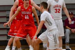 CIAC Boys Basketball; Wolcott 47 vs. Greenwich 76 - Photo # 595