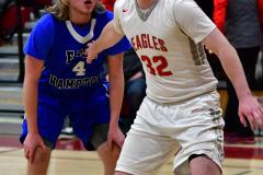 CIAC Boys Basketball; Wolcott 69 vs. East Hampton 63 - Photo # 413