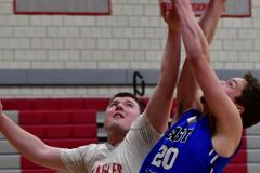CIAC Boys Basketball; Wolcott 69 vs. East Hampton 63 - Photo # 473