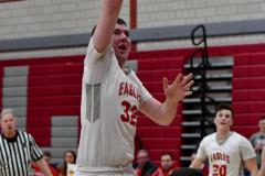 CIAC Boys Basketball; Wolcott 69 vs. East Hampton 63 - Photo # 596