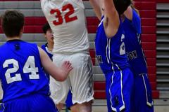 CIAC Boys Basketball; Wolcott 69 vs. East Hampton 63 - Photo # 648