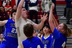 CIAC Boys Basketball; Wolcott 69 vs. East Hampton 63 - Photo # 717