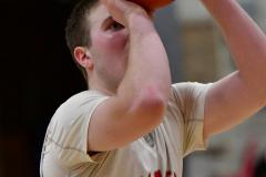 CIAC Boys Basketball; Wolcott 69 vs. East Hampton 63 - Photo # 720
