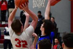 CIAC Boys Basketball; Wolcott 69 vs. East Hampton 63 - Photo # 762