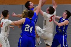CIAC Boys Basketball; Wolcott 69 vs. East Hampton 63 - Photo # 846