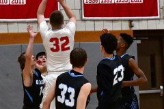 CIAC Boys Basketball; Wolcott 81 vs. Oxford 74 - Photo # 169