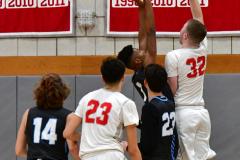 CIAC Boys Basketball; Wolcott 81 vs. Oxford 74 - Photo # 219