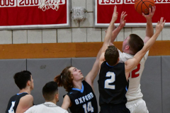 CIAC Boys Basketball; Wolcott 81 vs. Oxford 74 - Photo # 341