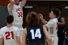 CIAC Boys Basketball; Wolcott 81 vs. Oxford 74 - Photo # 354