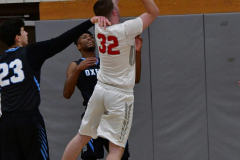 CIAC Boys Basketball; Wolcott 81 vs. Oxford 74 - Photo # 355