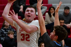 CIAC Boys Basketball; Wolcott 81 vs. Oxford 74 - Photo # 384