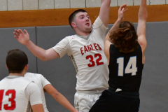 CIAC Boys Basketball; Wolcott 81 vs. Oxford 74 - Photo # 420