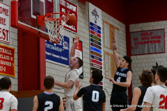 CIAC Boys Basketball; Wolcott 81 vs. Oxford 74 - Photo # 555