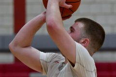 CIAC Boys Basketball; Wolcott 81 vs. Oxford 74 - Photo # 570