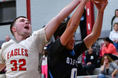 CIAC Boys Basketball; Wolcott 81 vs. Oxford 74 - Photo # 671
