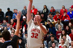 CIAC Boys Basketball; Wolcott 81 vs. Oxford 74 - Photo # 676