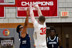 CIAC Boys Basketball; Wolcott vs. Ansonia - Photo # (210)