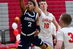 CIAC Boys Basketball; Wolcott vs. Ansonia - Photo # (228)