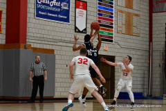 CIAC Boys Basketball; Wolcott vs. Ansonia - Photo # (331)