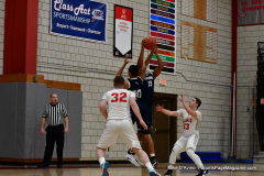 CIAC Boys Basketball; Wolcott vs. Ansonia - Photo # (332)