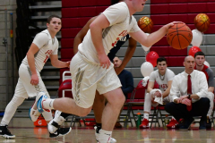 CIAC Boys Basketball; Wolcott vs. Ansonia - Photo # (337)