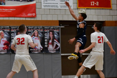 CIAC Boys Basketball; Wolcott vs. Ansonia - Photo # (507)
