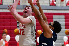 CIAC Boys Basketball; Wolcott vs. Ansonia - Photo # (843)