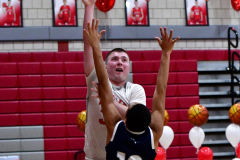 CIAC Boys Basketball; Wolcott vs. Ansonia - Photo # (850)