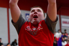 CIAC Boys Basketball; Wolcott vs. Ansonia, Pregame - Photo # (131)