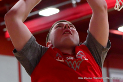 CIAC Boys Basketball; Wolcott vs. Ansonia, Pregame - Photo # (133)