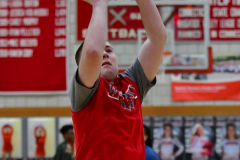 CIAC Boys Basketball; Wolcott vs. Ansonia, Pregame - Photo # (155)