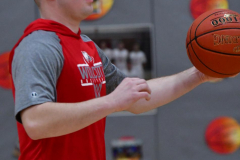 CIAC Boys Basketball; Wolcott vs. Ansonia, Pregame - Photo # (169)