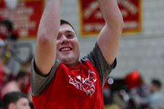 CIAC Boys Basketball; Wolcott vs. Ansonia, Pregame - Photo # (25)