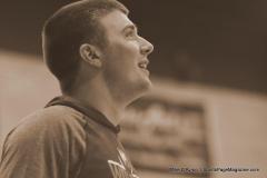 CIAC Boys Basketball; Wolcott vs. Derby, Pregame - Photo # (213)