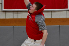 CIAC Boys Basketball; Wolcott vs. Derby, Pregame - Photo # (81)